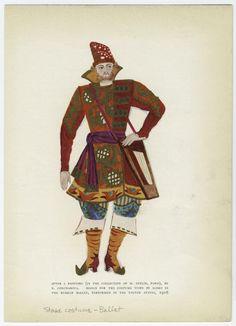 Sadko, Goncharova, 1916, Ballets Russes, US tour