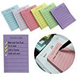 "EHME Super Sticky Notes 3""x4"",The To Do List Notepad,Easy Post Lined Notes,6 Pad/Pack,100 Sheet/Pad,Six... To do thing on sticky note remind you accomplish in time  Leave important message for https://thehomeofficesupplies.com/ehme-super-sticky-notes-3x4the-to-do-list-notepadeasy-post-lined-notes6-padpack100-sheetpadsix-colors/"