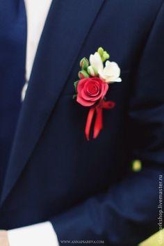Купить Бутоньерка - бутоньерка, свадьба, свадьба 2013, свадебные аксессуары, бутоньерка для жениха, бутоньерка свадебная