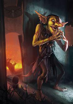 Goblin Intriguer by Lothrean on deviantART