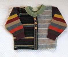 EDWIN Felted Toddler Sweater made from recycled by heartfeltbaby, $65.00