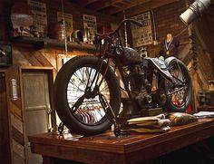 Everything welcome equipment vintage garage
