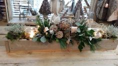 Christmas Wreaths, Xmas, Vintage Cooking, Table Decorations, Holiday Decor, Home Decor, Christmas Swags, Yule, Vintage Kitchen