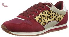Pepe Jeans Sydney Basic, Baskets Basses Fille, Rouge (280Berry), 34 EU - Chaussures pepe jeans (*Partner-Link)