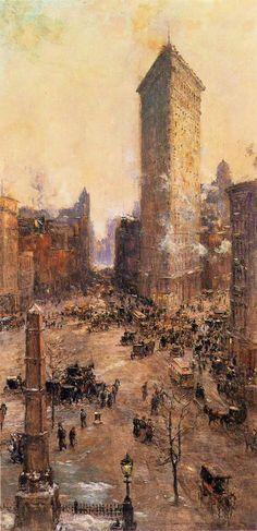 Colin Campbell Cooper - Flatiron Building Manhattan, 1908