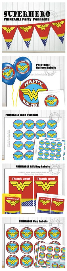 Wonder Woman Party & Gift Ideas!