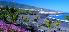 Playa Jardín en Puerto de la Cruz, una playa ideal para familias