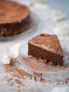 Halálosan finom csokoholista torta mogyoróvajas mázzal // Kristóf Konyhája