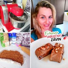 Fitness jablečný závin zdravý recept Bajola French Toast, Breakfast, Recipes, Food, Morning Coffee, Essen, Meals, Ripped Recipes, Eten