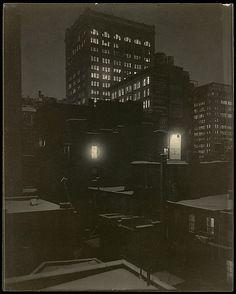 Alfred Stieglitz. Fr the Back Window