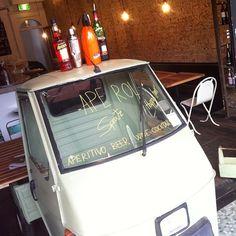 Ape rol Italian Bar, Sydney Australia, Beer, Home Decor, Root Beer, Homemade Home Decor, Ale, Interior Design, Home Interior Design