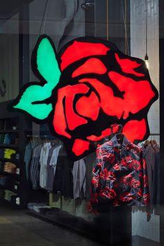 www.retailstorewindows.com: Fred Perry, London