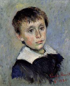 Portrait de Jean Monet C Monet,1880