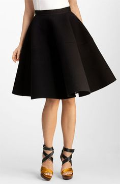 This skirt is approximately twelve hundred dollars out of my price range and doesn't come in my size, but... it's really nice.