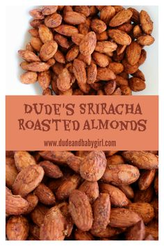 Do you like almonds and/or spicy stuff? These sort of spicy almonds are perfect. (The gourd is just for looks.) The recipe for almonds is. Spicy Almonds, Roasted Almonds, I Want To Eat, Almond Recipes, Gourd, Appetizers, Sweets, Desserts, Baby