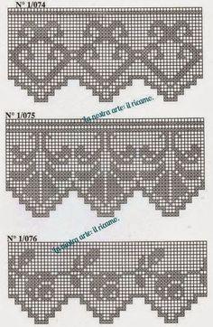 Learn to Crochet – Crochet Wave Fan Edging. How I made this wave fan edging border stitch. Filet Crochet, Punto Red Crochet, Crochet 101, Crochet Pouch, Crochet Borders, Crochet Gifts, Learn To Crochet, Crochet Patterns, Crochet Edgings