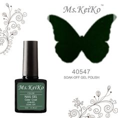 G-Beauty : MSKEIKO new color Soak-off UV Led Gel Polish SHELLAC Nail Art 10ml 40547 Pretty Poison >>> Details can be found by clicking on the image.