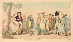 Frailties of Fashion, May 1793. British Museum 1868,0808.6292
