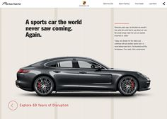 Porsche Panamera - Awwwards Site Of The Day - Awwwards