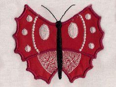 Applique Spring Butterflies Machine Embroidery Designs http://www.designsbysick.com/details/appspringbutterflies