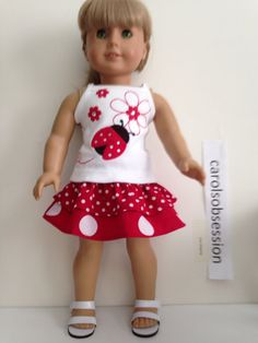 Reconstructed Gymboree Outfit made to fit 18 by Carolsobsession