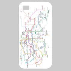 Mapa del Metro de Barcdelona - Funda iPhone 5