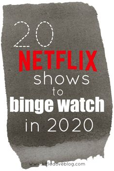 Here's a list of 20 shows to binge watch in Some new shows and some old shows of all different genres. Netflix original series to binge watch. Netflix Drama Series, Netflix Shows To Watch, Netflix Dramas, Movie To Watch List, Netflix Documentaries, Good Movies To Watch, Netflix Netflix, Netflix Hacks, Netflix Original Series List