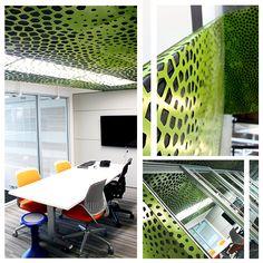 Decorative Metal Screens | Ribbon Wall