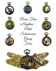 "All the ""Resin Time Is AnyTime"" Blog posts are here. http://www.resincrafts.blogspot.ca/p/resin-time-is-anytime.html"