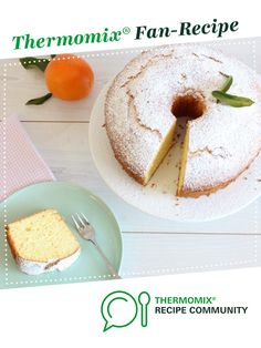 Recipe Orange chiffon cake by Thermomix in Australia - Recipe of category Baking - sweet Orange Recipes, Sweet Recipes, Orange Chiffon Cake, Thermomix Desserts, Recipe Community, Baking Recipes, Icing, Deserts, Snacks