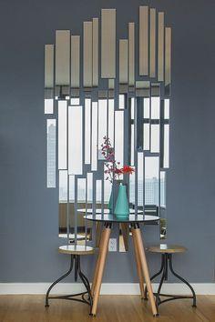 Una composizione di specchi originale per decorare casa! 20 idee creative per ispirarvi…