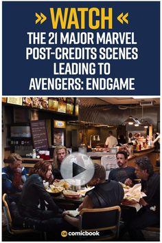 Marvel Studios Shares Every Major MCU Post-Credits Scene to Tease 'Avengers: Endgame' Marvel Films, Marvel Comic Books, Marvel Comics, Big Universe, Comic News, Sci Fi Thriller, Good Movies To Watch, The Dark World, Marvel Entertainment