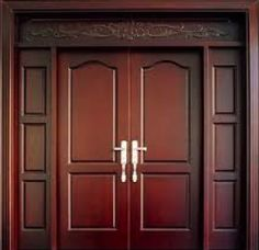 47 Ideas For Wooden Door Design Modern Double Single Wooden Door Designs, Single Front Door Designs, Single Door Design, Wooden Double Doors, Modern Wooden Doors, Double Door Design, Wooden Front Doors, Wood Doors, Main Entrance Door Design