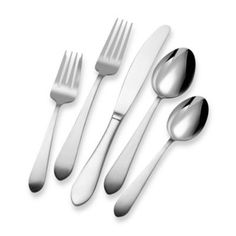 Pfaltzgraff® Everyday Salisbury 20-Piece Flatware Set - BedBathandBeyond.com
