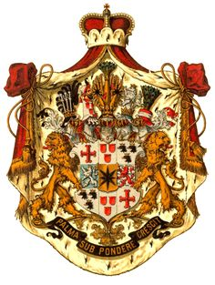 Principality of Waldeck-Pyrmont (1180 - 1918, Germany) Medieval, Nassau, Ariana Grande Outfits, Holy Roman Empire, Arm Armor, Banner, Family Crest, Europe, Crests