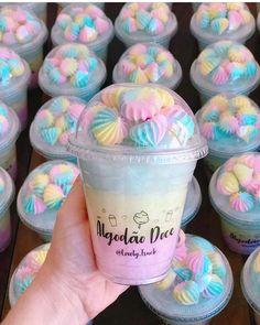 Excellent simple ideas for your inspiration Mermaid Birthday, Unicorn Birthday Parties, Unicorn Party, Birthday Party Decorations, Girl Birthday, Birthday Treats, Candy Party, Party Treats, Cute Desserts