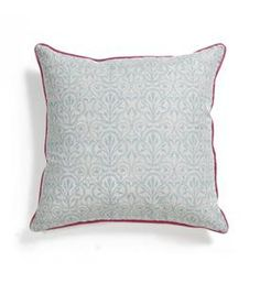 belle & june  belle blue pillow