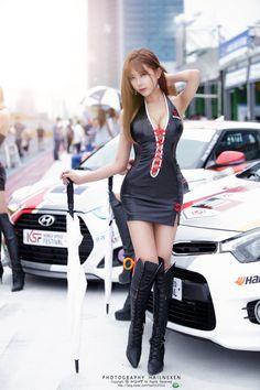 Huh Yun Mi @ 2014 KSF (Korea Speed Festival) Round 1
