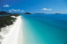 Whitehaven Beach on Whitsunday Island has been named… Australia's best beach? Whitehaven Beach on Whitsunday Island has been named the third best beach in the world. Beaches In The World, Places Around The World, Oh The Places You'll Go, Places To Travel, Places To Visit, Around The Worlds, Whitehaven Beach Australia, Australia Beach, Queensland Australia