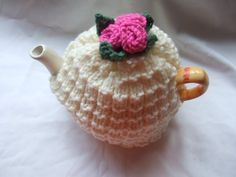 love this one too! ROSE TEA COSY KNITTING PATTERN