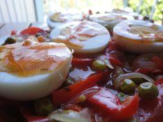 Huevos Fritos, Mashed Potatoes, Panna Cotta, Pudding, Ethnic Recipes, Desserts, Food, Juices, Food Cakes