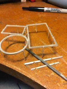 Arthur Hash - prongs on frames for settings