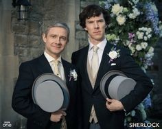 Aw John and Sherlock are finally getting married!!!