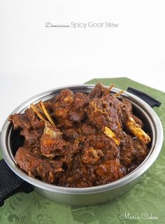 Receta en español: Chivo Guisado  I think I am right in saying that, just like the Dominican sancocho, chivo guisado is another favorit...