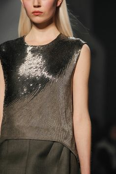 Narciso Rodriguez Fall 2014 - NYFW - Fashion Details