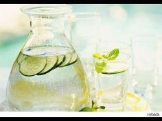 Agua de Pepino para bajar de peso. Preparación 1 minuto