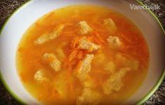 Kváskové halušky v mrkvovej polievke - Recept