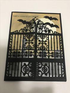 Graveyard gate, detailed gate thinlits,