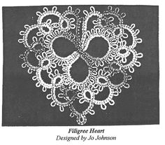 72 Best Awesome Tatting Hearts Images On Pinterest