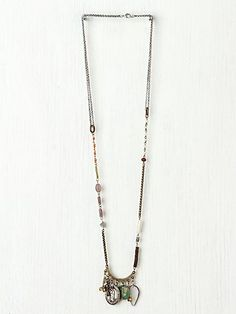 Free People Eclectic Mix Necklace